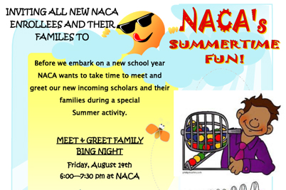 naca summer enrollment